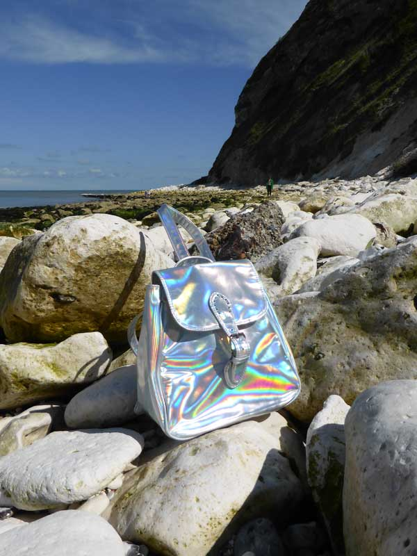 Holographic rucksack from Motel Rocks