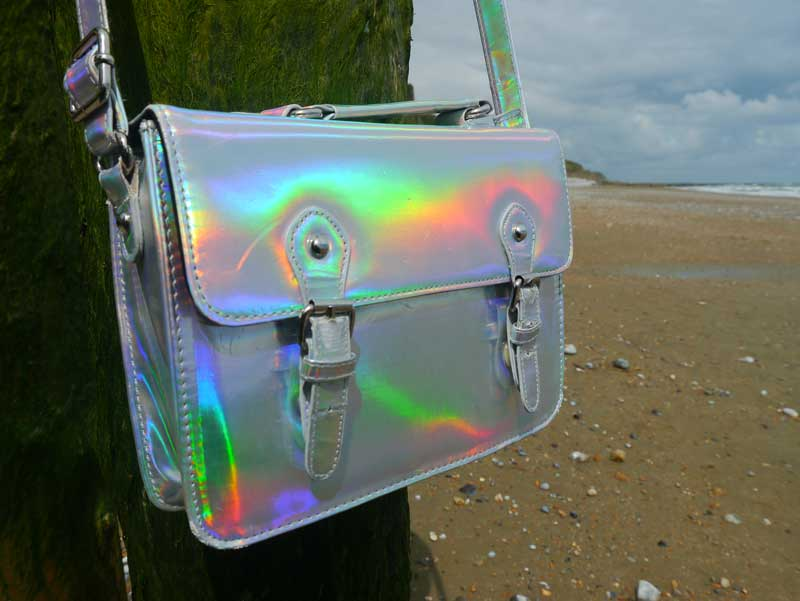 Holographic satchel by ASOS