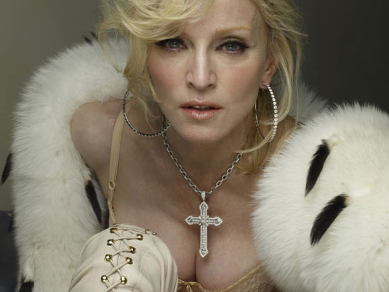 Madonna in 2009