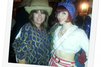 Helen Carey and Amber Butchart
