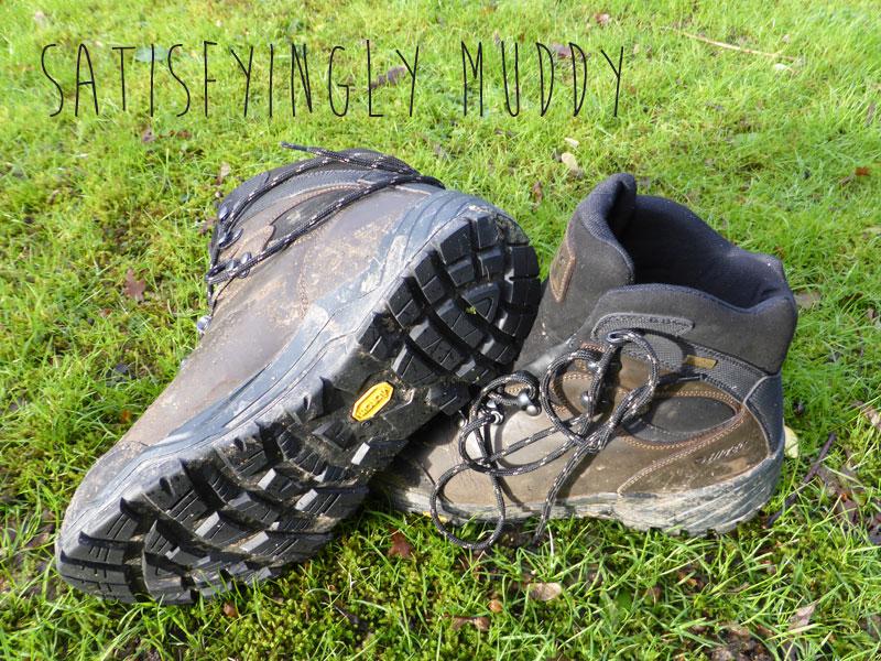 Mud-free cleats - thankfully!