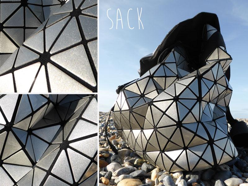 Geometric rucksack