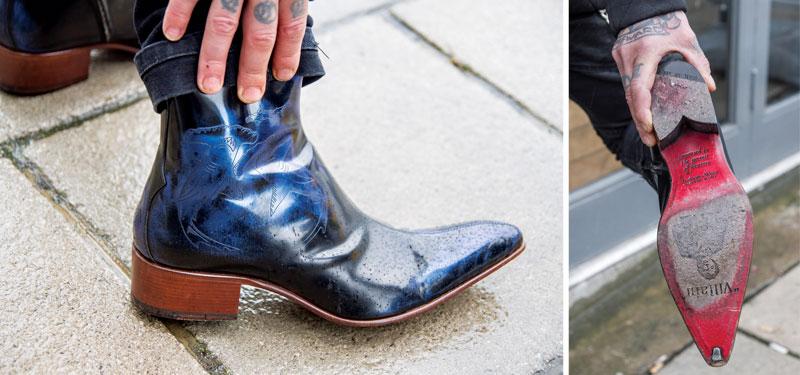 Hand-made Jeffery-West boots