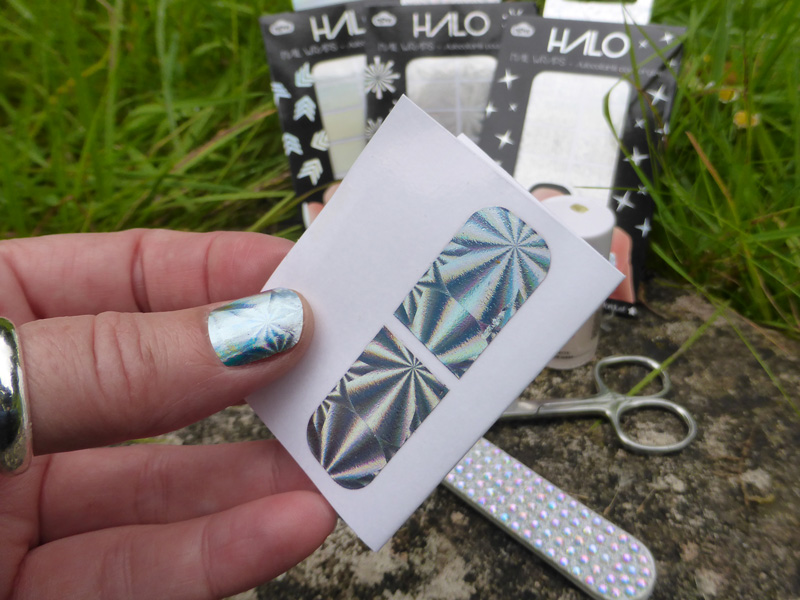 Hologram nail foils