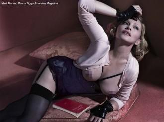 Madonna (Mert Alas and Marcus Piggot/Interview Magazine)